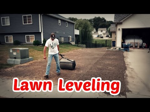 Leveling the Lawn Before Reseeding Part 2