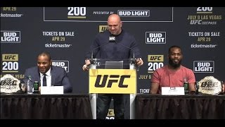 UFC 200: Madison Square Garden Press Conference Highlights