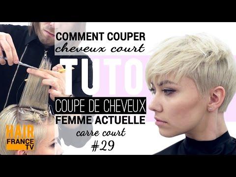 Tuto coiffure: Coupe de cheveux tendance HAIR France TV