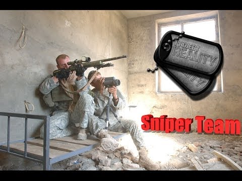 Project Reality 1.2 - Fallujah Sniper Team (Full Round)