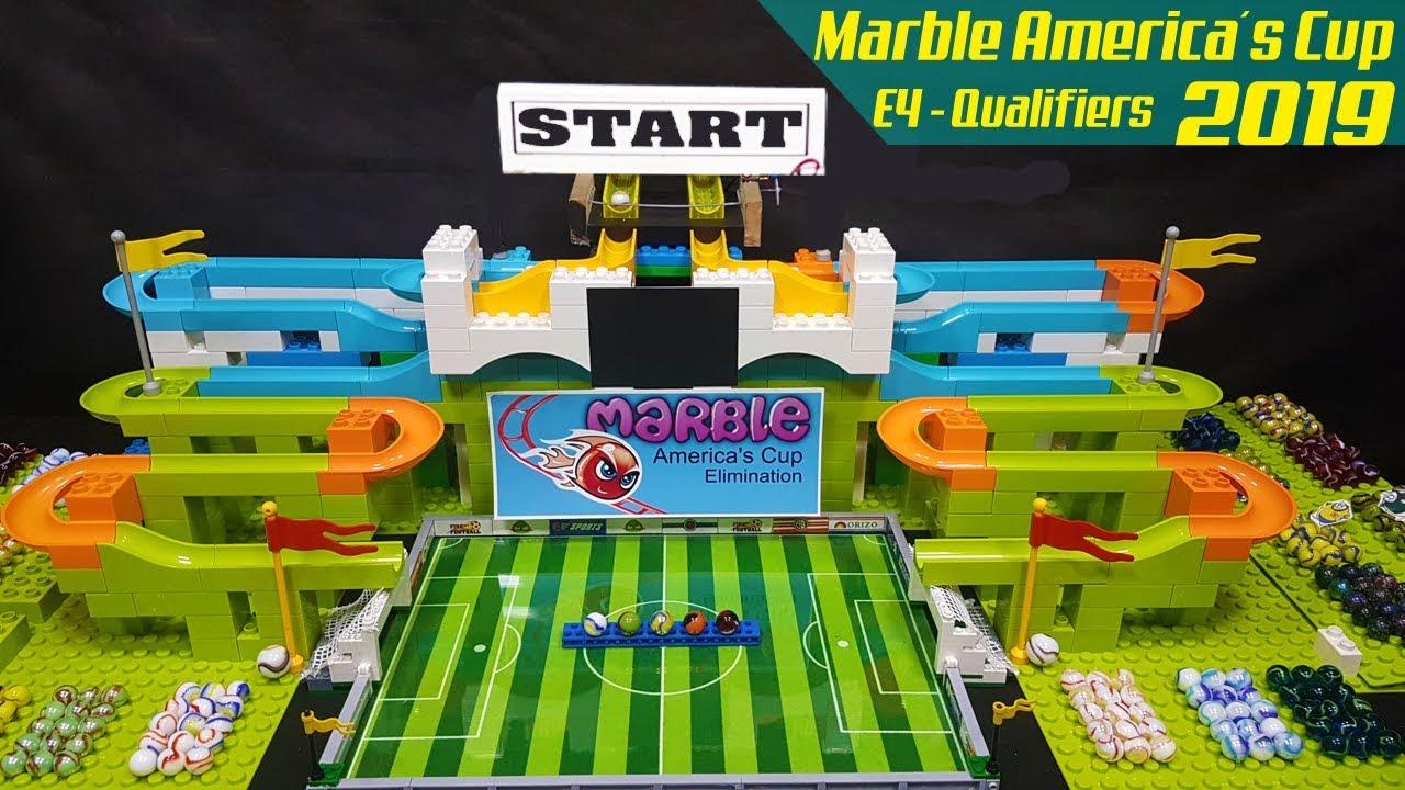 Asia Carrera Marble marble soccer: copa america 2019 qualifiers e4 - carrera de canicas -  collision