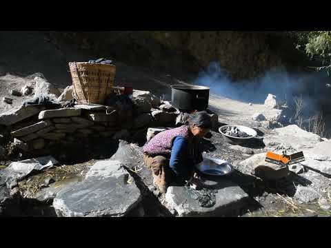 Cloth Washing in Himalaya | Rural Life | Himalayan Life