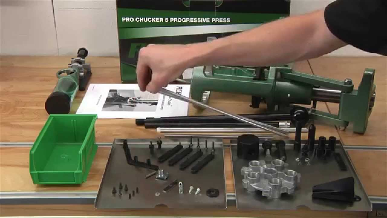 Unboxing the RCBS Pro Chucker 5 Reloading Press