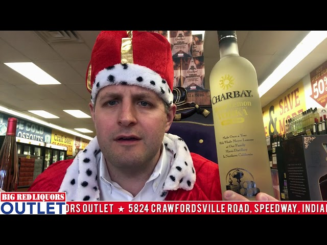 Charbay Lemon Vodka at the Big Red Liquors Outlet Store