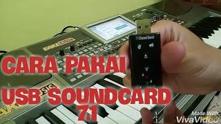 USB Sound Card 7.1