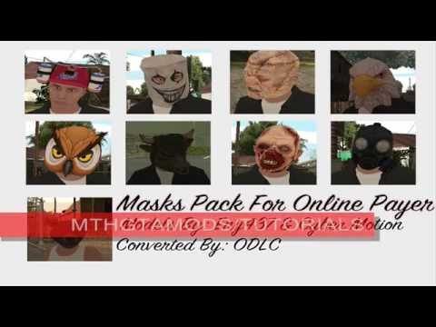 Heist Masks For Online Player