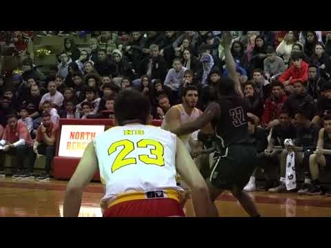 Hudson Catholic 72 North Bergen 58 Boys Basketball highlights