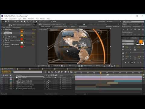 After Effects News Opener tutorial