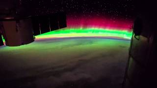 ISS Timelapse - Very Bright Aurora Australis (21 Aprile 2015)