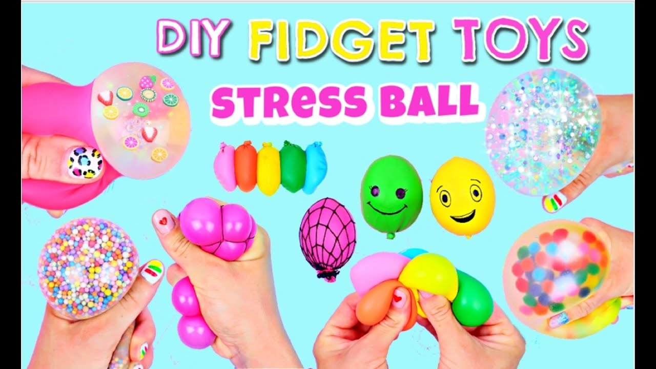 7 DIY FIDGET TOYS - Stress Balls Fidget Toy Compilation - Viral TikTok Videos