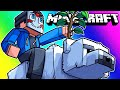 Minecraft Funny Moments - Building The Tallest Treehouse Ever!!