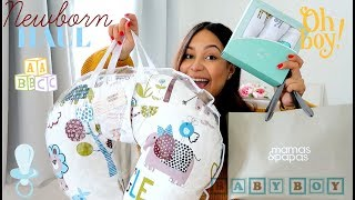 NEWBORN BABY HAUL | CLOTHES & ACCESSORIES:  MOTHERCARE, NEXT, ZARA, TK MAXX, MATALAN, & MORE