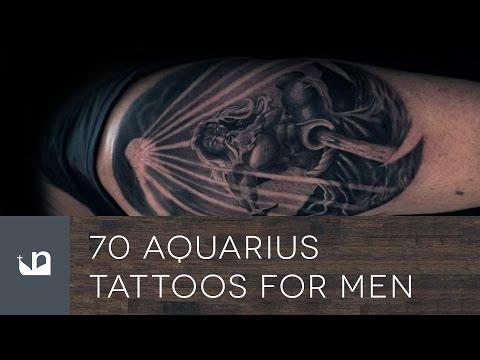 70 Aquarius Tattoos For Men