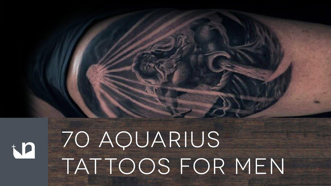 7b97c66e0 70 Aquarius Tattoos For Men - YouTube