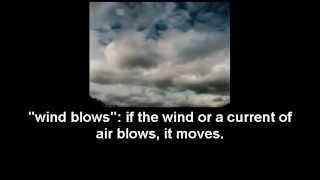 air and wind related vocabulary