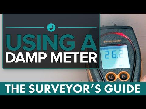 Using A Damp Meter