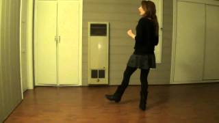 Canadian Stomp (Line Dance) - Demo & Teach