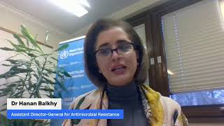 Live Q&A on #AntimicrobialResistence. #AskWHO