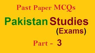 Solved Question   Pakistan History MCQs, Short Questions, PMS, CSS, FPSC, PPSC, AD, NTS, PTS