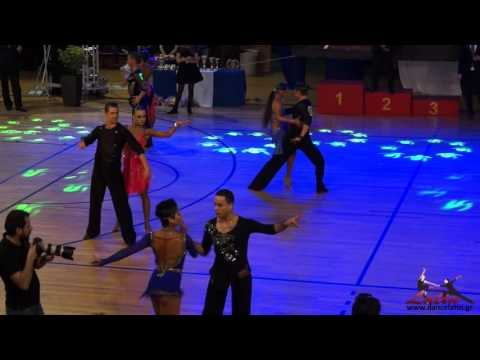 WDSF Greek Open 2015: WDSF World Open Latin: QuarterFinal