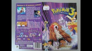 Pokémon 3: El hechizo de los unown (VHS)