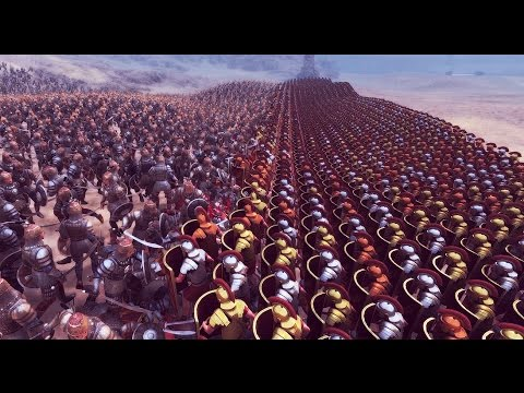 Roman Shield Wall VS Overwhelming Persian Army(Commentary On NEW AI Combat Tactics) - UEBS