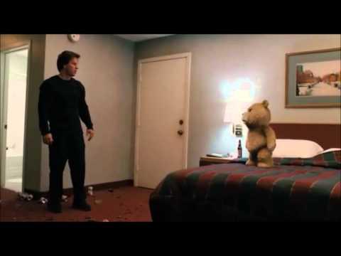Film TED. Scene Bagarre