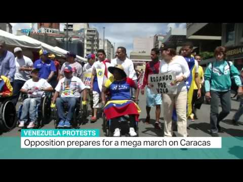 Venezuela Protests: Opposition prepares for a mega march on Caracas