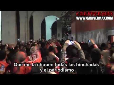 TODOS LOS DOMINGOS (LETRA) RIVER PLATE - LOS BORRACHOS DEL TABLON COPA LIBERTADORES 2015