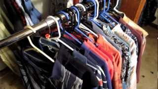 SUPER COOL CLOTHING HAUL- SELLING CLOTHES ON EBAY- MAKE MONEY AT THRIFT STORES BUYING CLOTHES