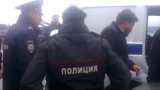 Арест начальника штаба Навального Леонида Волкова в Нижнем Новгороде (29.09.17)