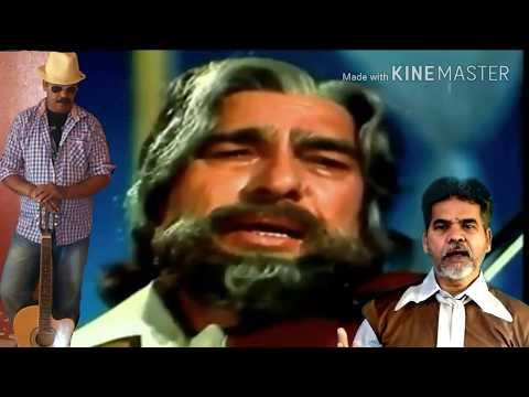 Sansar Hai Ek Nadiya   Karaoke Song   Mukesh   Vishwas Rane  