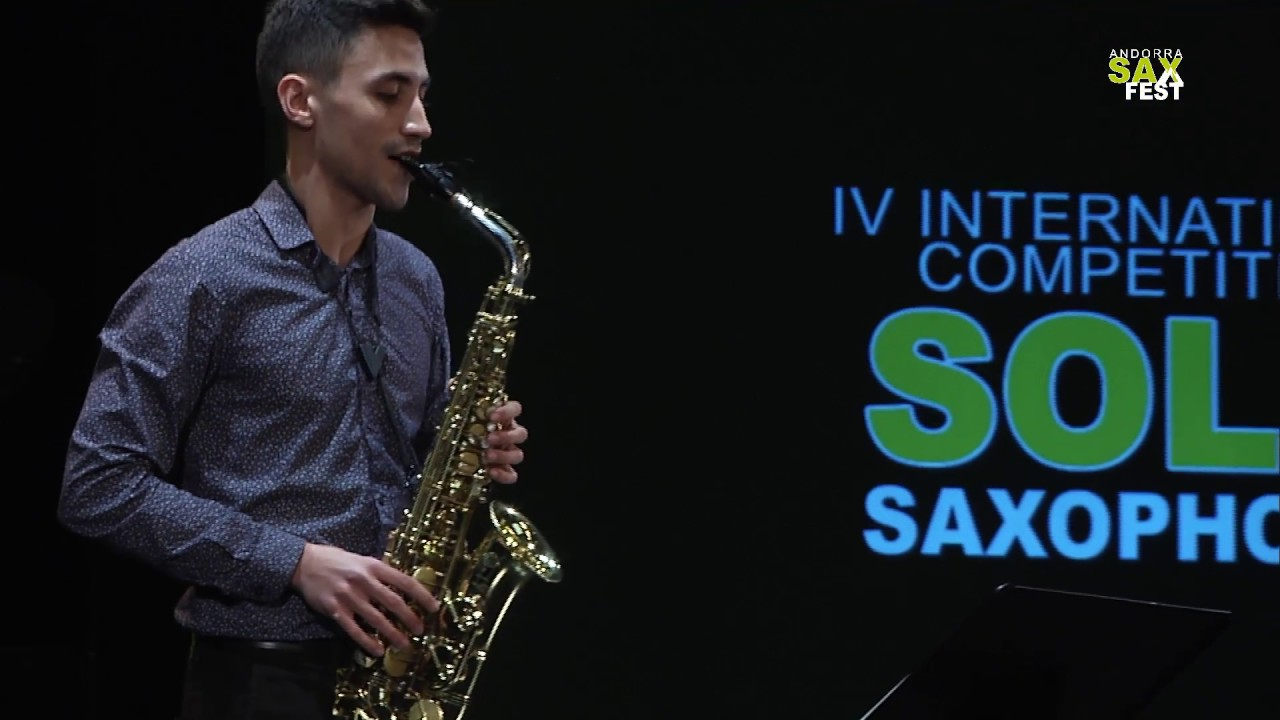 FRANCISCO JESÚS RUSILLO - 2nd ROUND - IV ANDORRA INTERNATIONAL SAXOPHONE COMPETITION 2017