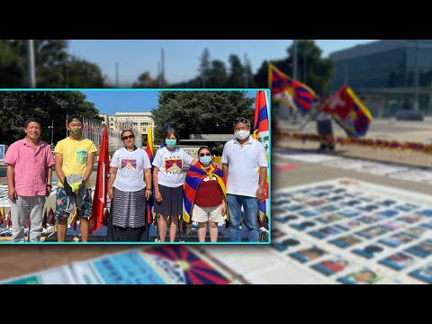 Five Tibetan families and their campaign for Tibet at the UN