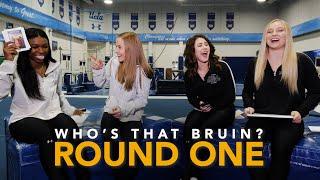 Who's That Bruin?   Nia Dennis & Madison Kocian vs. Macy Toronjo & Savannah Kooyman   Round 1