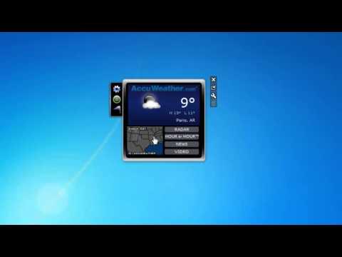 Sidebar7 гаджет боковой панели для Windows 7