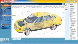Мультимедийная программа на CD-диске для обучения и подготовки водителей транспортных средств
