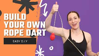 [EASY DIY] How T๐ Build Your Own Rope Dart   Michelle C. Smith