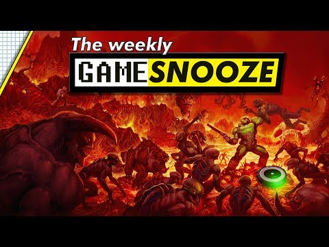 THE WEEKLY GAME SNOOZE - Doom Roomba, New From Software Games, Star Citizen Release Date