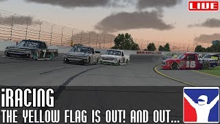 iRacing    The yellow flag is out! and out... and out... (NASCAR Trucks @ Lucas Oil)    LIVE