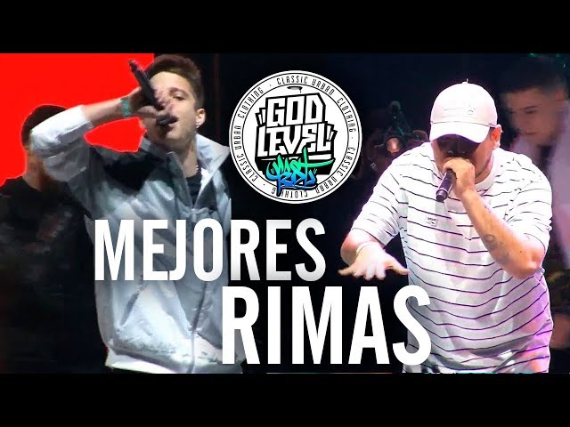 Las MEJORES RIMAS del GOD LEVEL FEST CHILE 2019 - MUNDIAL DE FREESTYLE [3vs3]