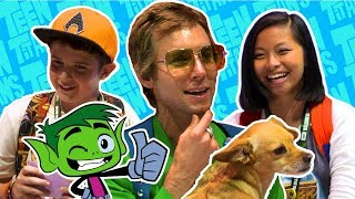 Beast or Beast Boy? | Greg Cipes Interview at San Diego Comic-Con | DC Kids