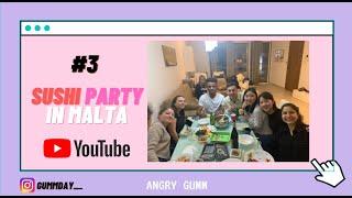 #3 ENG) SUSHI PARTY  | 몰타유학생 |…