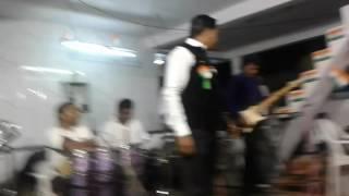 Arvind shrimali lok gayak...from gujarat guru brahmin samaj