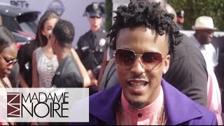 august alsina gives update on his eyes eating the box bet awards