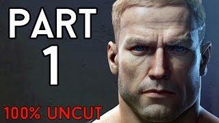 Let's Play Wolfenstein The New Order Deutsch 100% UNCUT #01 - Bruchlandung