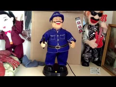 Gemmy Animated The Laughing Policeman