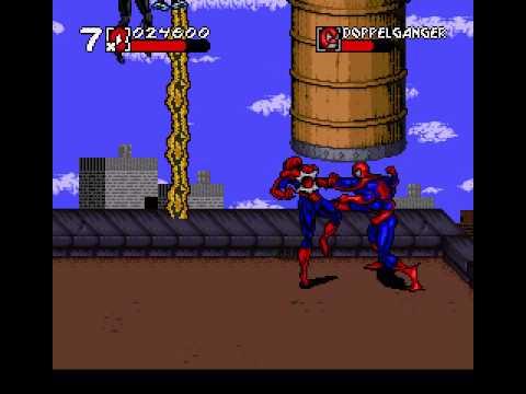 Spiderman Venom Maximum Carnage Snes Full Playthrough Youtube