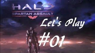 Let´s Play Halo: Spartan Assault #01: Erstes Kapitel, erste Eindrücke; German, 1080p