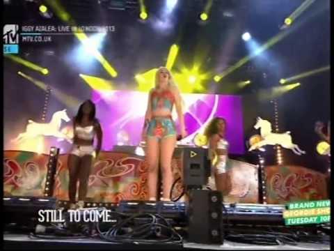Iggy Azalea. MTV Yahoo festival Full video